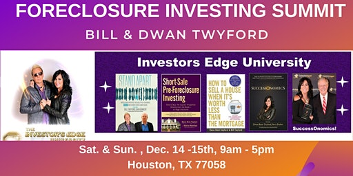 Two Day Cash In a Flash Foreclosure Investing Summit