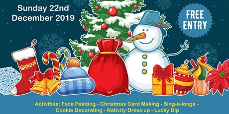 Santa's Grotto - Free children's event tickets