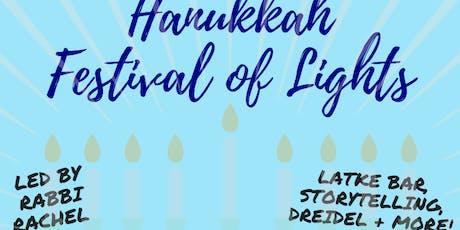 Hanukkah Festival of Lights with Rabbi Rachel tickets