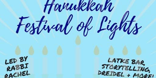 Hanukkah Festival of Lights with Rabbi Rachel