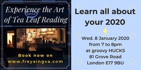 Experience the Art of Tea Leaf Reading with Freya Ingva tickets