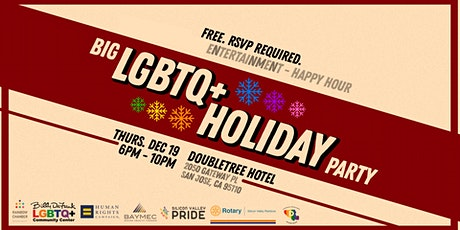 Big LGBTQ+ Holiday Party 2019 tickets