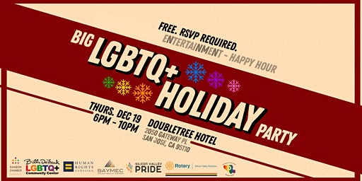 Big LGBTQ+ Holiday Party 2019