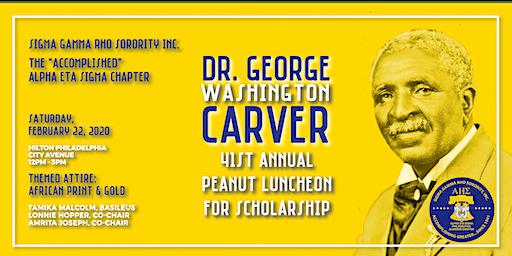 41st Annual Dr. George Washington Carver Peanut Luncheon Scholarship