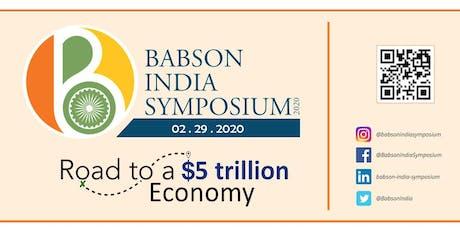 Babson India Symposium 2020 tickets