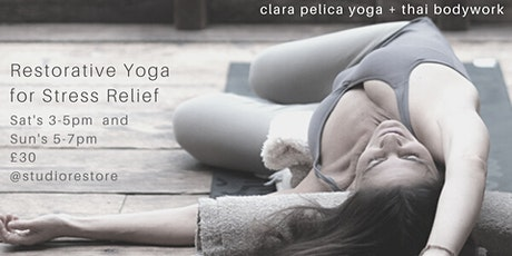 2hr Restorative Yoga for Stress Relief tickets