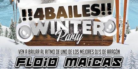 !!4Bailes!! Winter Party @ Sala Corleone (Sabiñánigo / Huesca) entradas