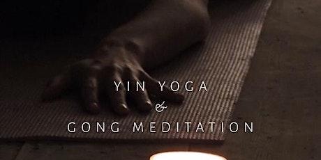 Yin Yoga & Gong Meditation tickets