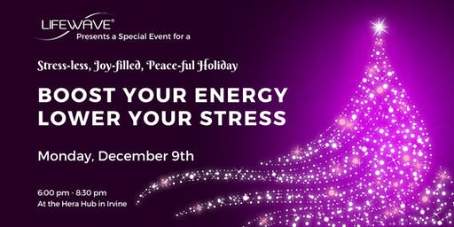 Boost Your Energy & Lower Your Stress
