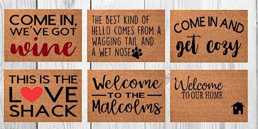 Harvest Ridge January Doormat Workshop