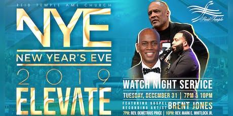 Watch Night 2019: Elevate tickets
