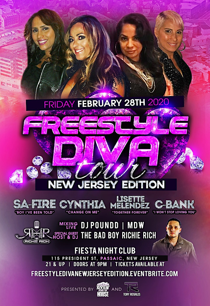 Freestyle Diva Tour (New Jersey Edition) image