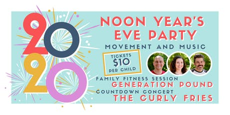 Noon Year's Eve Party: Movement and Music for Kids tickets