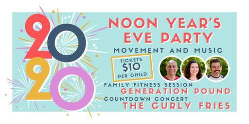 Noon Year's Eve Party: Movement and Music for Kids