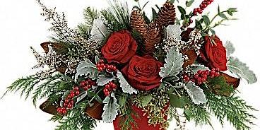 Winter Blooms Centerpiece workshop