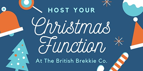 Private BBC Christmas Function Breakfast tickets