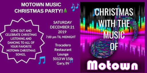 MOTOWN MUSIC CHRISTMAS PARTY!
