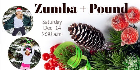 Holiday Workout Spectacular! (Zumba + Pound) tickets