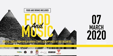 FOOD & MUSIC by PUGLIA tickets
