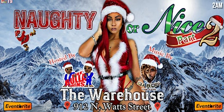 Naughty or nice 2 tickets