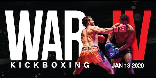 War Kickboxing: WAR IV