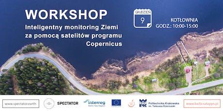 Inteligentny monitoring Ziemi za pomocą satelitów programu Copernicus tickets
