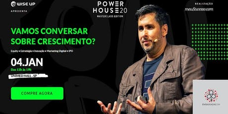 Mega Reunião Embaixada GV Potiguar - Transmissão do Power House 2020 bilhetes