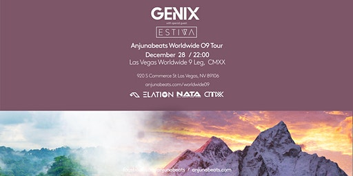 Anjunabeats Worldwide 09 Tour: Genix - Las Vegas
