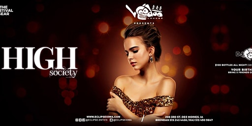 High Society with DJ RAJ and Friends