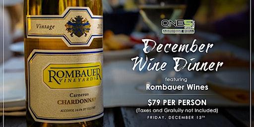 Rombauer Wine Dinner