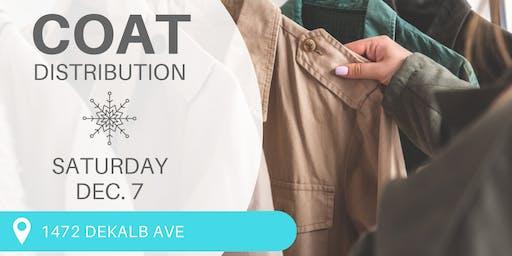 Free Coat Distribution Event - Bushwick