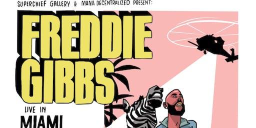 Freddie Gibbs Performs Live- Superchief Gallery &