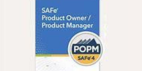 SAFe Product Owner/Product Manager Certification Class (SAFePOPM 4.6 $899) tickets