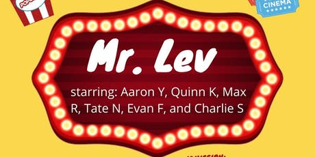 MR. LEV tickets