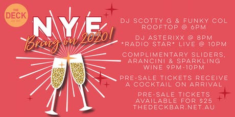 New Years Eve 2020 tickets