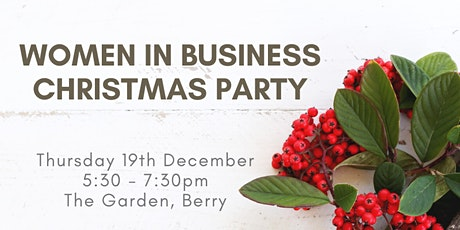 Women in Business Christmas Party tickets