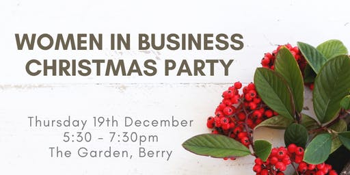 Women in Business Christmas Party