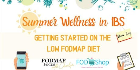 Summer Wellness in IBS with FodShop and Dietitian Charlyn tickets