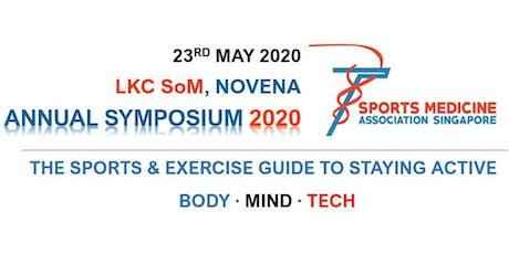 Sports Medicine Association Singapore Annual Symposium 2020 tickets