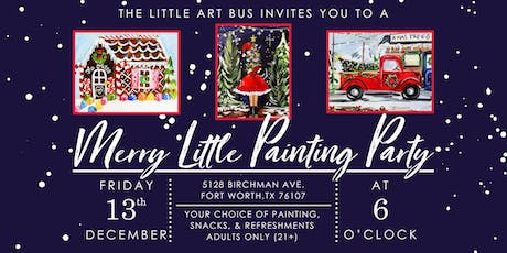 Merry Little  Painting Party tickets