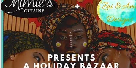 African Holiday Bazaar-A shop & dine event