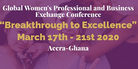 GLOBAL WOMEN'S PROFESSIONAL & BUSINESS CONFERENCE 2020 tickets