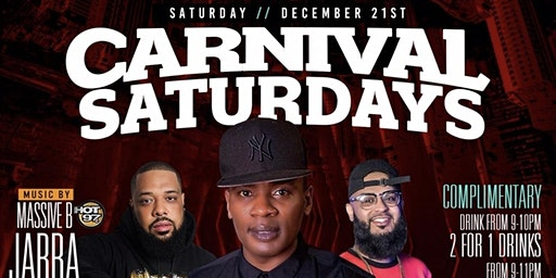 """JABBA FRM HOT 97 INVADES CARNIVAL SATURDAYS """