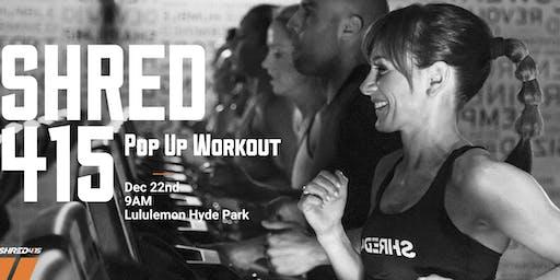 Shred415 Pop Up Workout