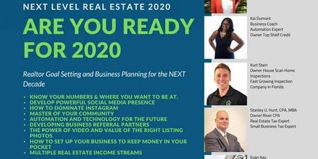 Next Level Real Estate 2020 -Are YOU Ready For 2020 tickets