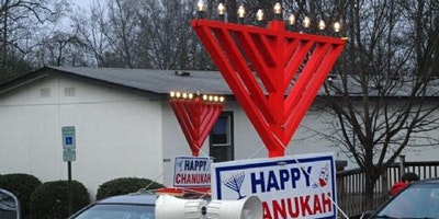 Chanukah Parade to Southaprk Mall