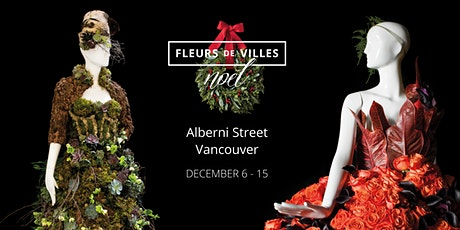 Fleurs de Villes Noël - a FREE Festive Floral Extravaganza tickets