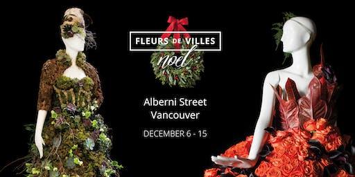 Fleurs de Villes Noël - a FREE Festive Floral Extravaganza