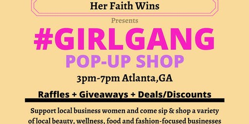 Girl Gang New Year Pop-Up