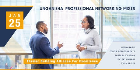 UNGANISHA Professional Networking Mixer tickets